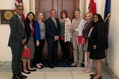 Team New York with Rep Collins