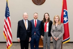 Team Tennessee with Senators Alexander and Blackburn